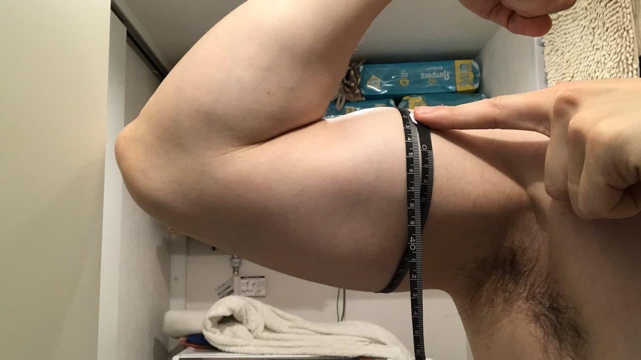 腕周り34.5㎝